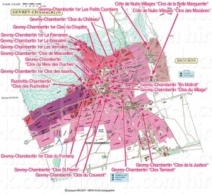 Gevrey-Chambertin, Brochon ジュヴレ・シャンベルタンとブロションのモノポール