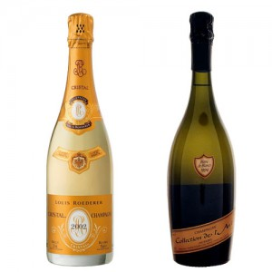 変形版標準的なシャンパーニュボトル
