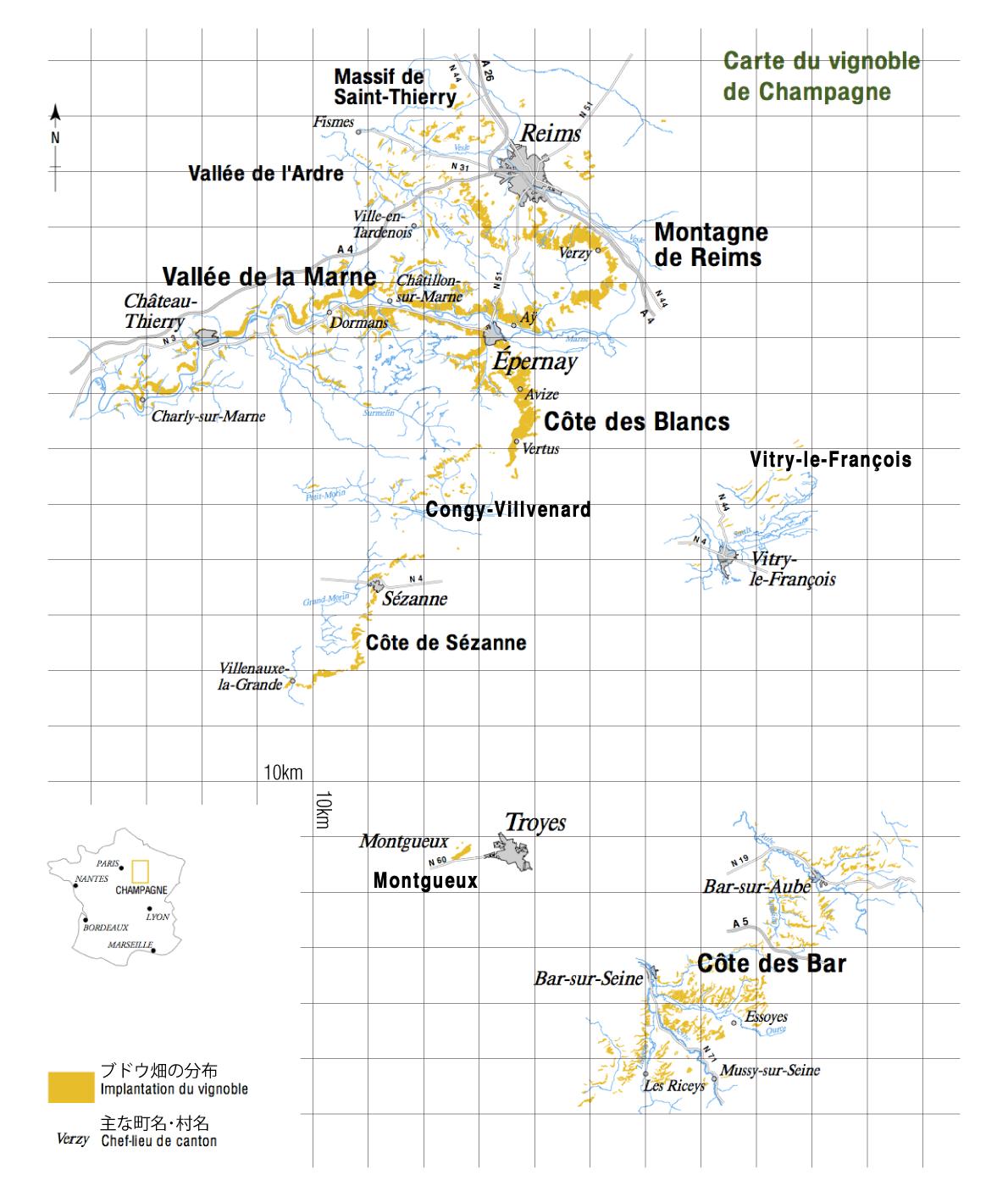 日本地図 直線距離 マップ : 県別 白地図 : 白地図