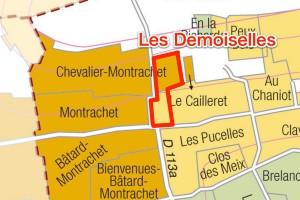 Les Demoisellesの位置